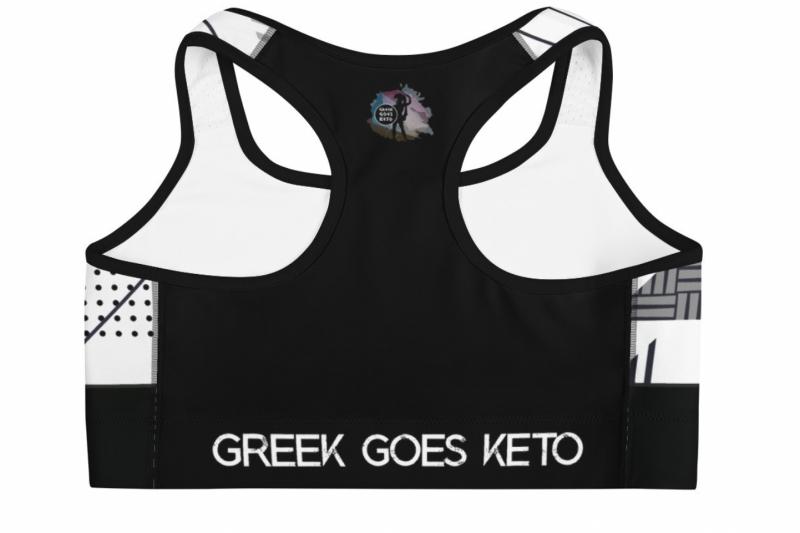 Γυναικείο αθλητικό μπουστάκι Greek Goes Keto™