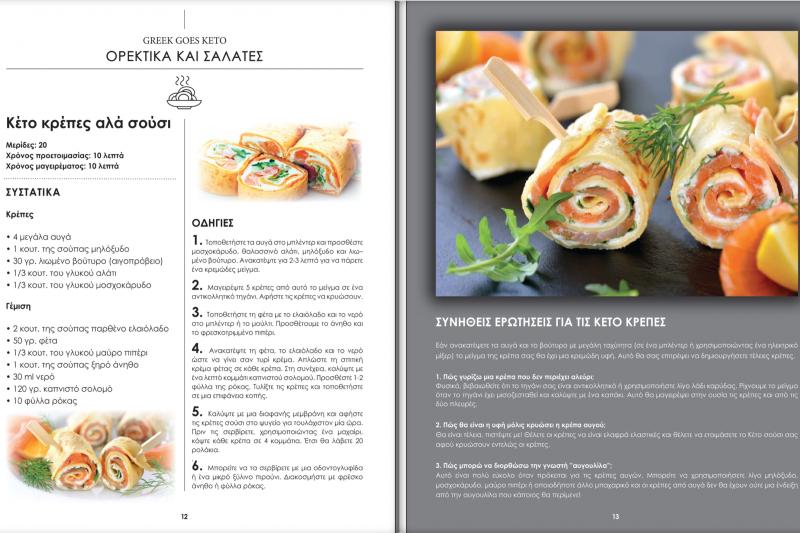 βιβλίο συνταγών κέτο Μεσογειακής διατροφής